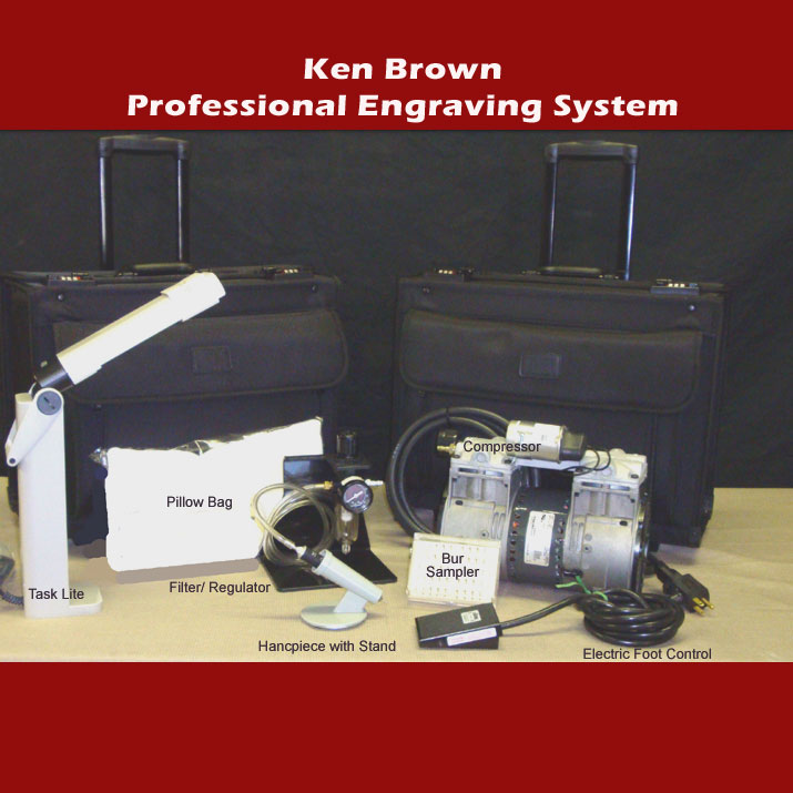 Ken Brown Engraving System - Calligraphy Engraving Kit